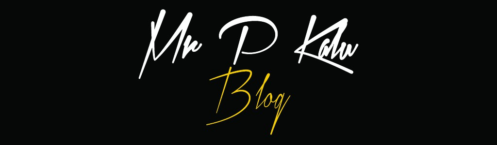 MrPKalu Blog Page Website Header