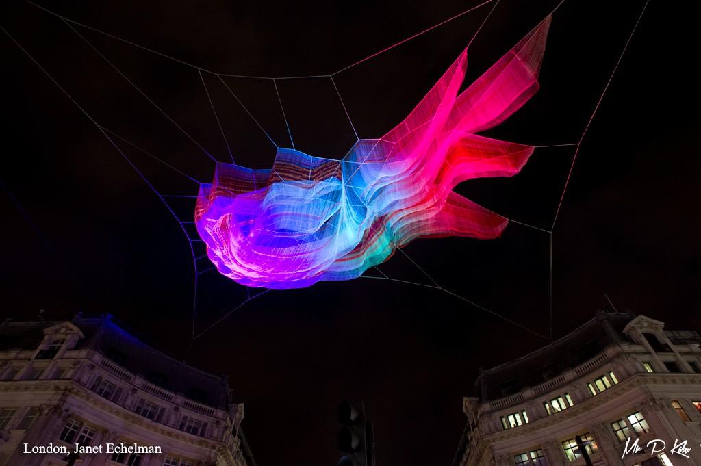 1.8 London by Janet Echelman / Studio Echelmon