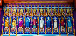 The-light-of-the-spirit at Westminster Abbey Lumiere London 2016