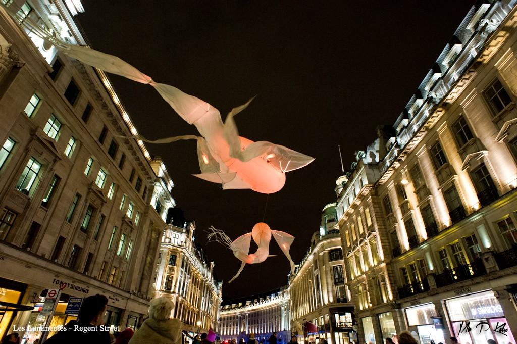 Les Lumineoles, Lumiere London 2016