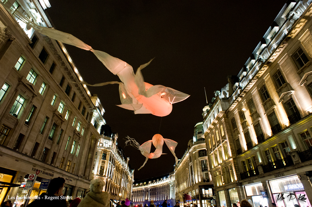 Les Lumineoles, Lumiere London 2016