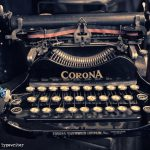 corona-typewriter-in-Notting-hill-Antique-Market