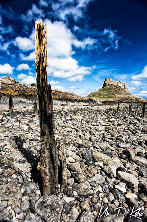 Image of Lindisfarne or Holy Island in Northumberland