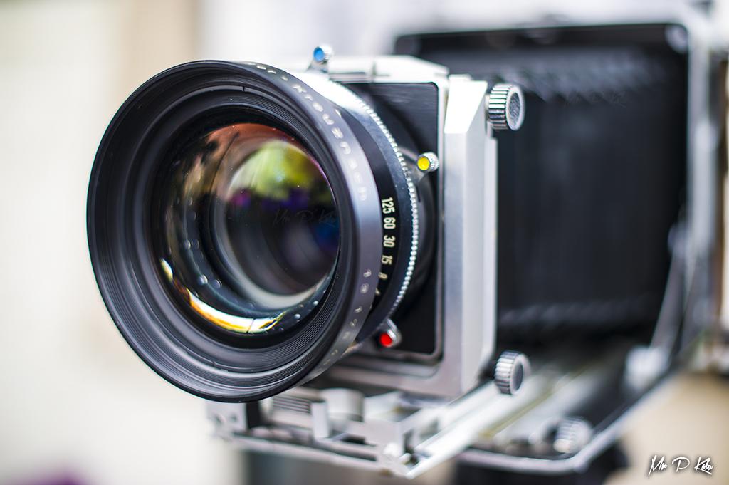 Antique large format camera
