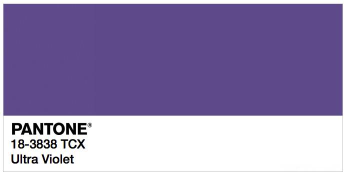Ultra Violet - Pantone Colour of 2018