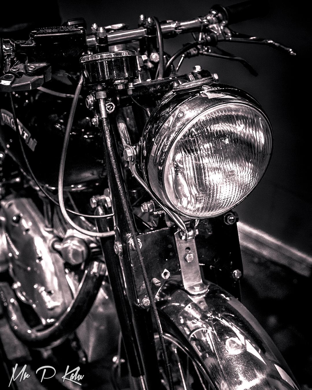 Vincent motorbike image by mrpkalu