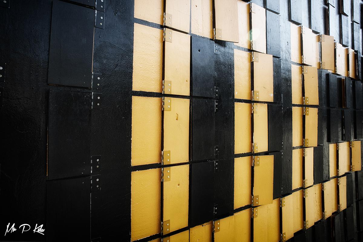 Image of a shutters on a wall in Copenhagen taken by MrPKalu