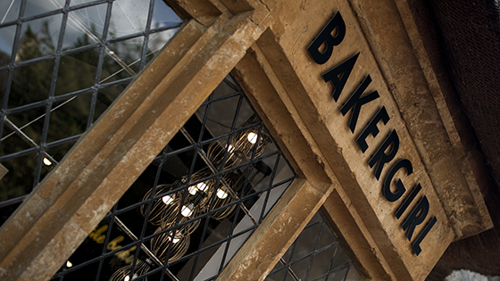 Bakergirl Cafe Great Tew Oxfordshire Cotswolds