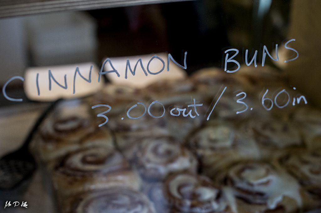 Bakergirl Cinnamon buns to take away or eat in
